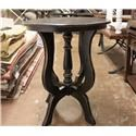 Vintage Occasional Tables Tiffany Accent Table - Item Number: F-MIC681-LAT