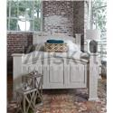 Vintage AVA Queen Bed - Item Number: CAM40NWB1+B2+B3 QN BED