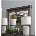 Vintage Industrial Mirror - Item Number: JONINDUMIBW