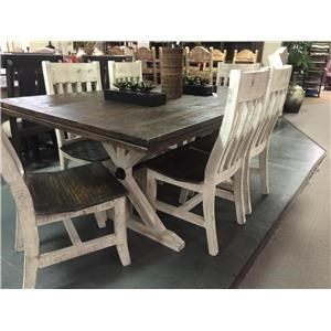 Two Toned Dining Table
