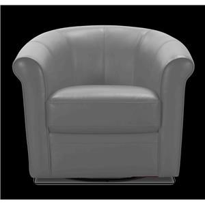 1100A Leather Swivel Chair