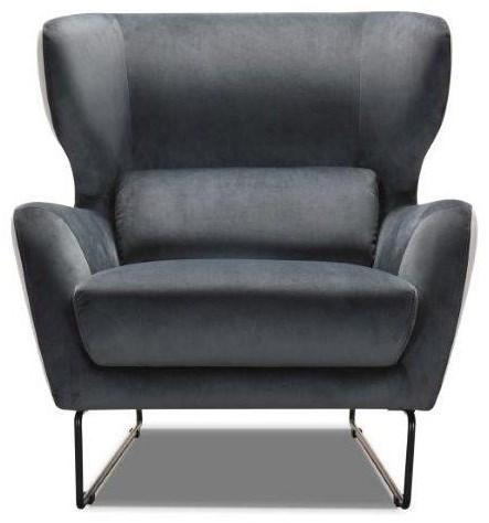Contemporary Velvet Chair