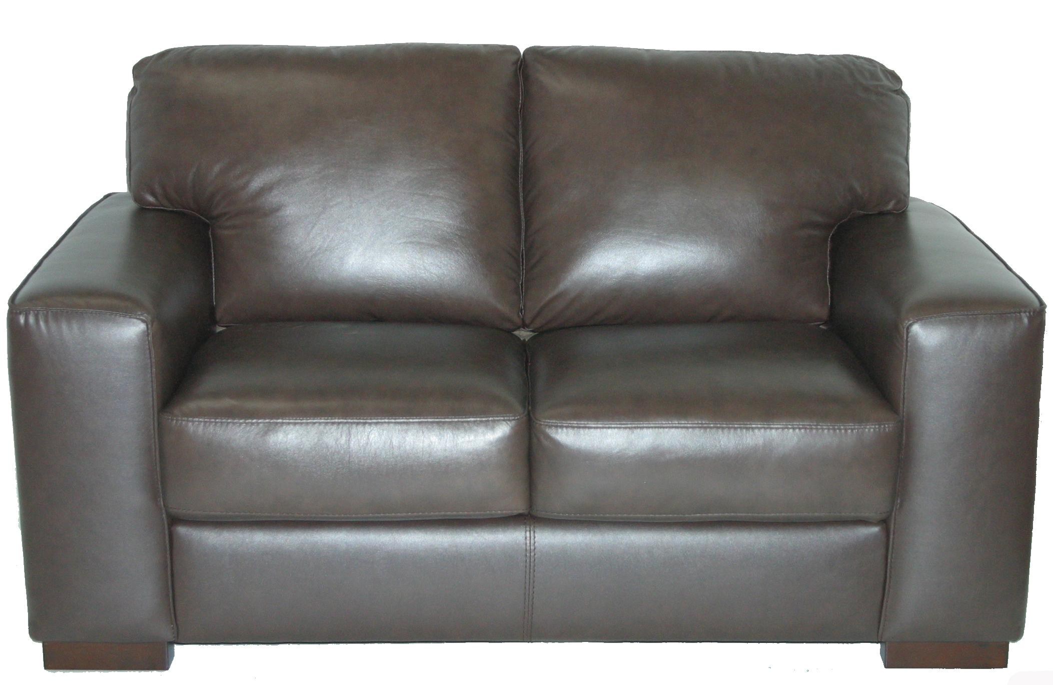 Violino Contemporary Loveseat with Track Arms Dunk