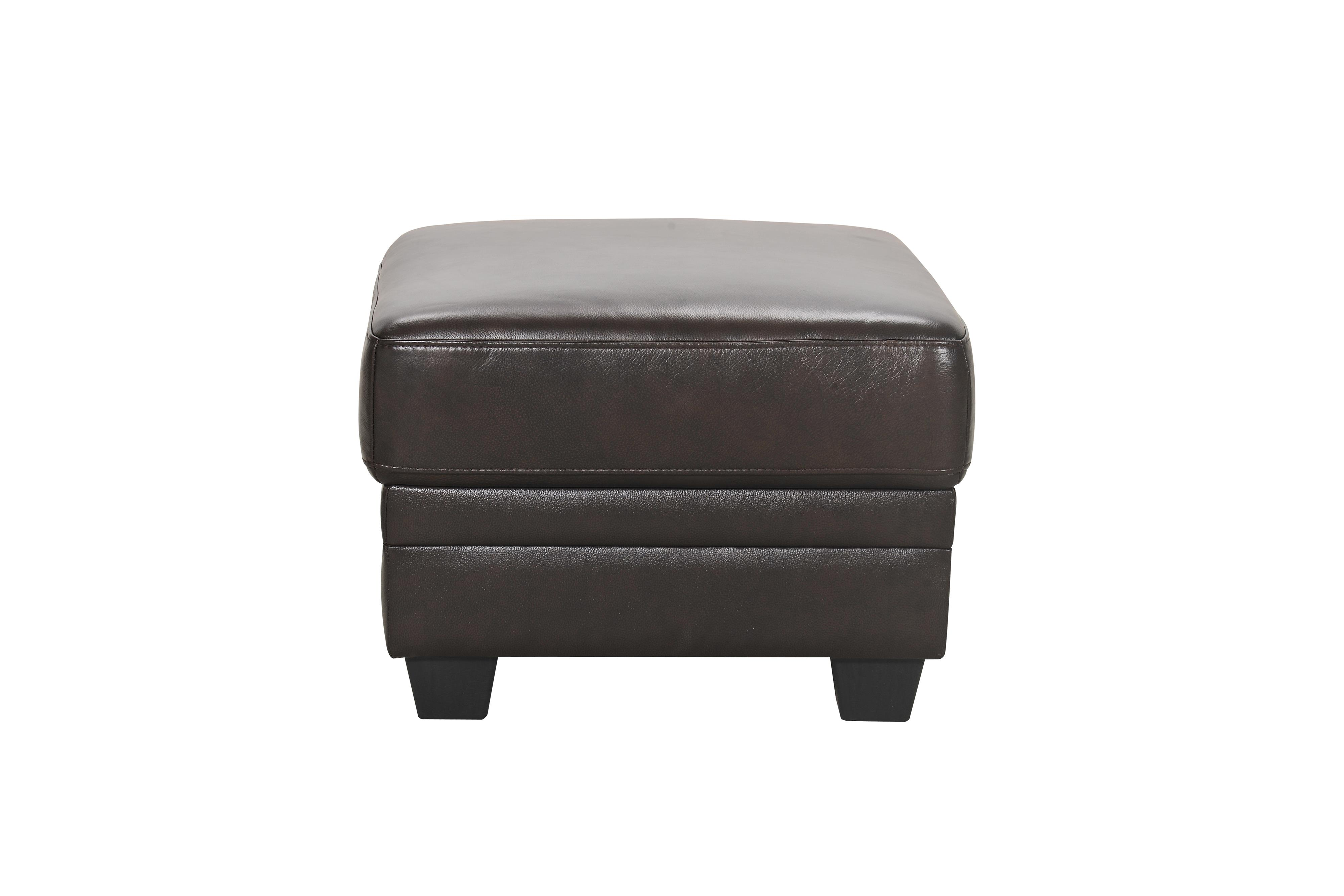 30960 Leather Ottoman by Violino at Dunk & Bright Furniture