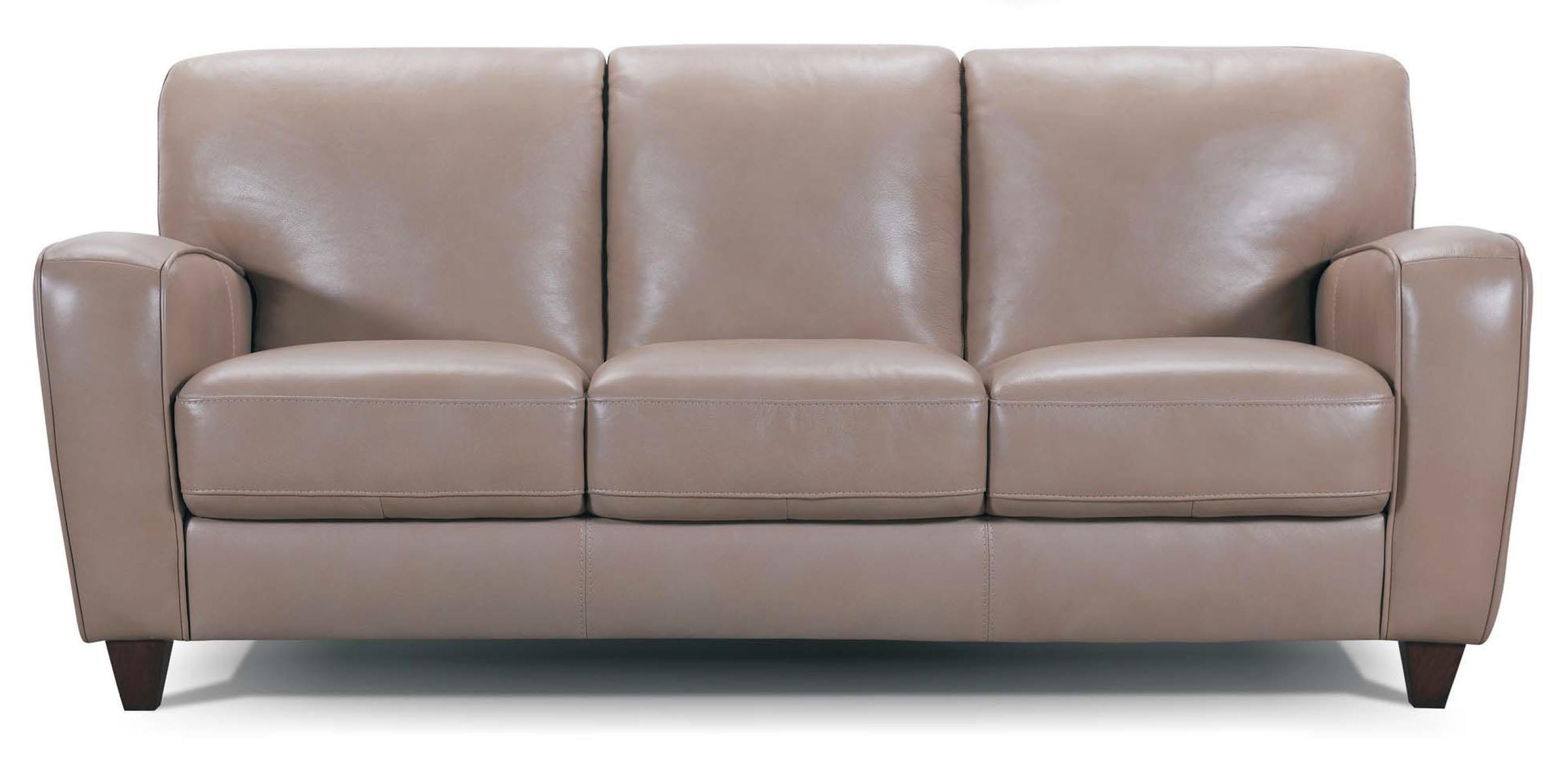 Track Arm Leather Sofa