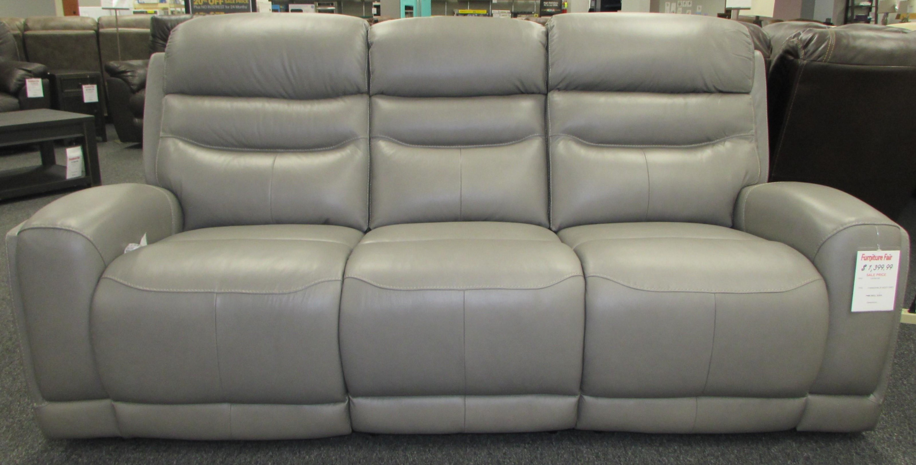 Violino 31964EMHM IVORY Power Reclining Sofa - Item Number: 31964EMHMSOFAGREY