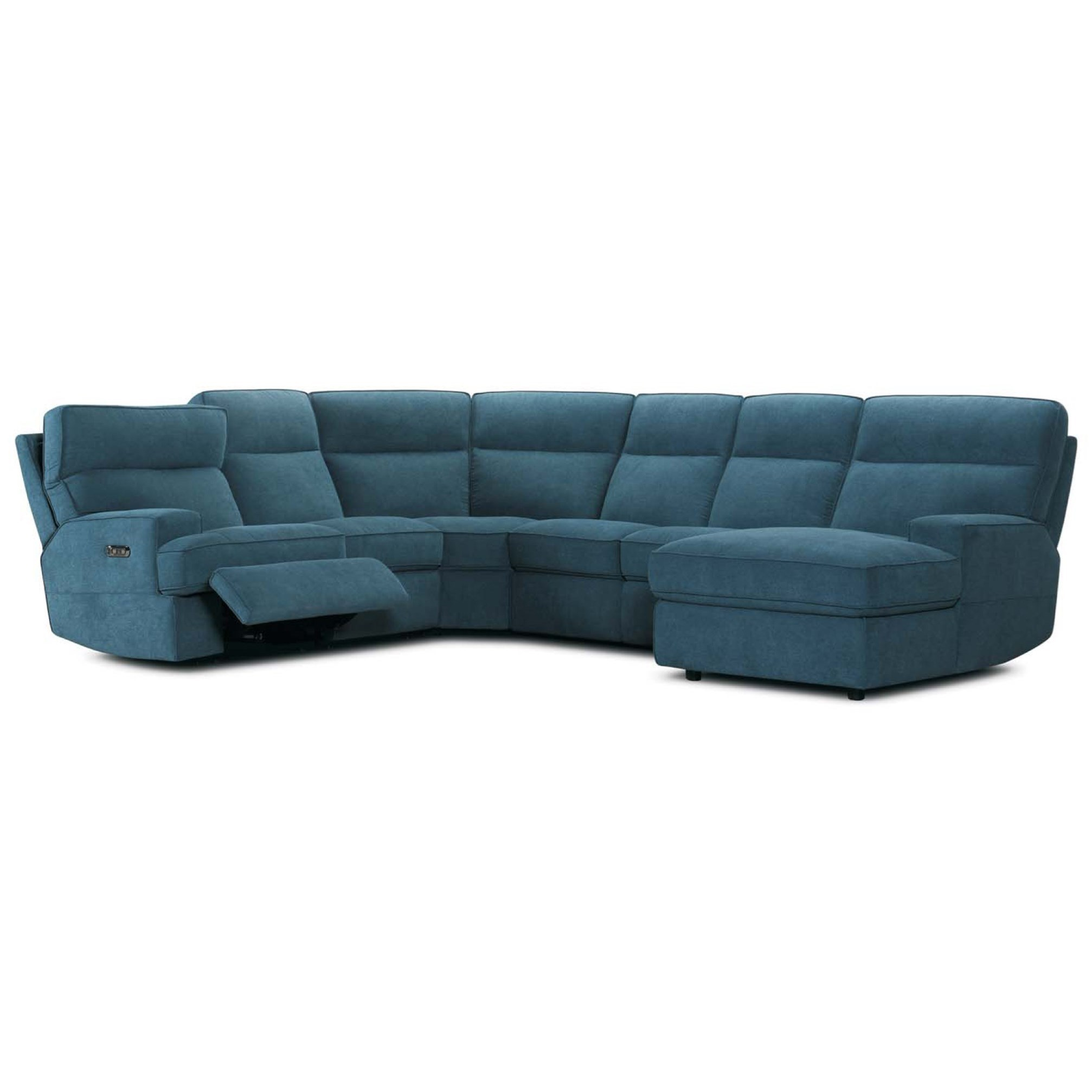 32146 6 Pc Reclining Sectional Sofa by Violino at Furniture Superstore - Rochester, MN