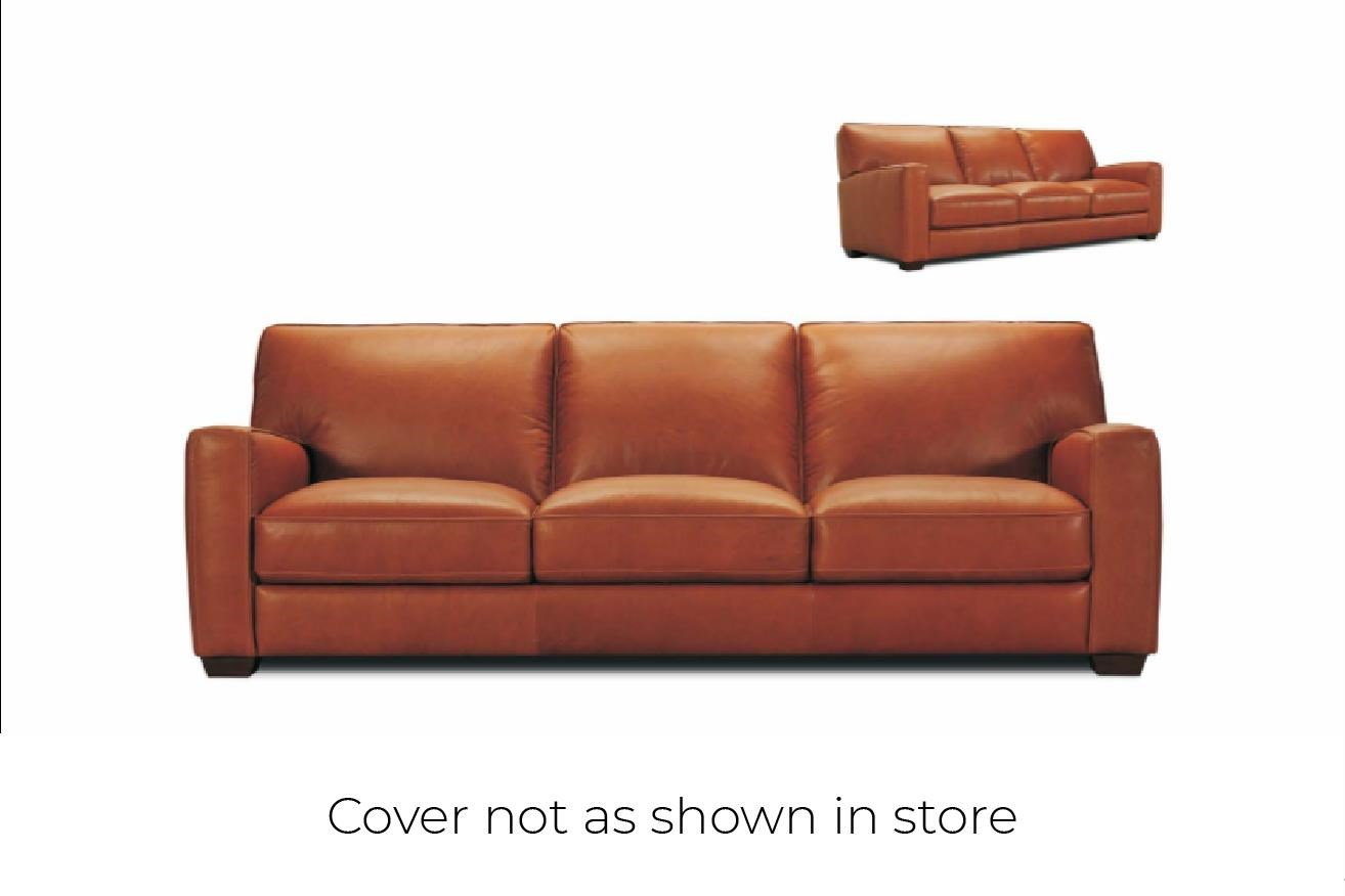 32570 Leather Sofa at Bennett's Furniture and Mattresses