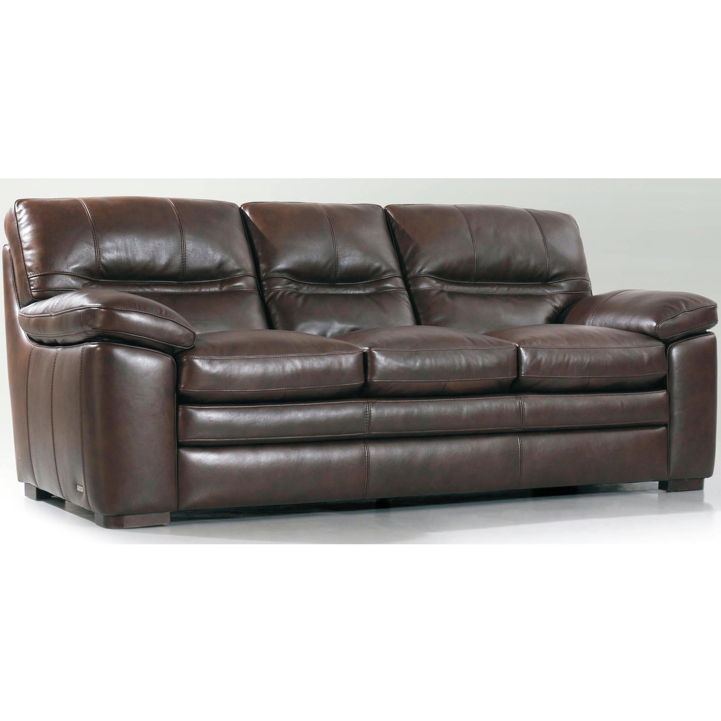 Violino 3574 Casual Sofa With Split Back And Pillow Top Arms