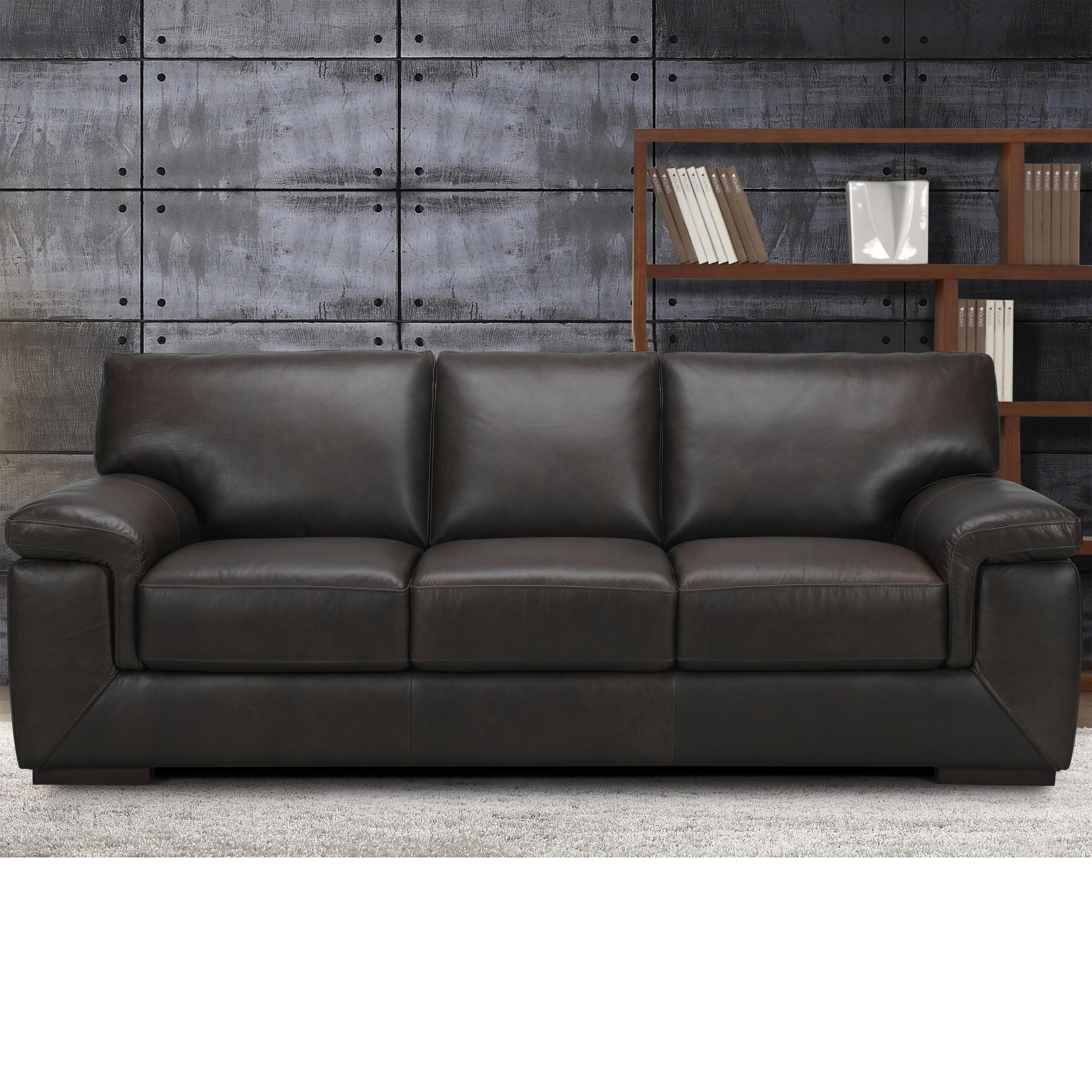 Violino 3576 Casual Sofa With Block Feet And Pillow Top Arms Fmg
