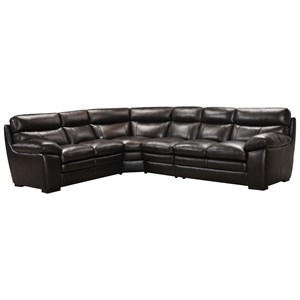 Becker 1950 3658 4 Pc Sectional Sofa