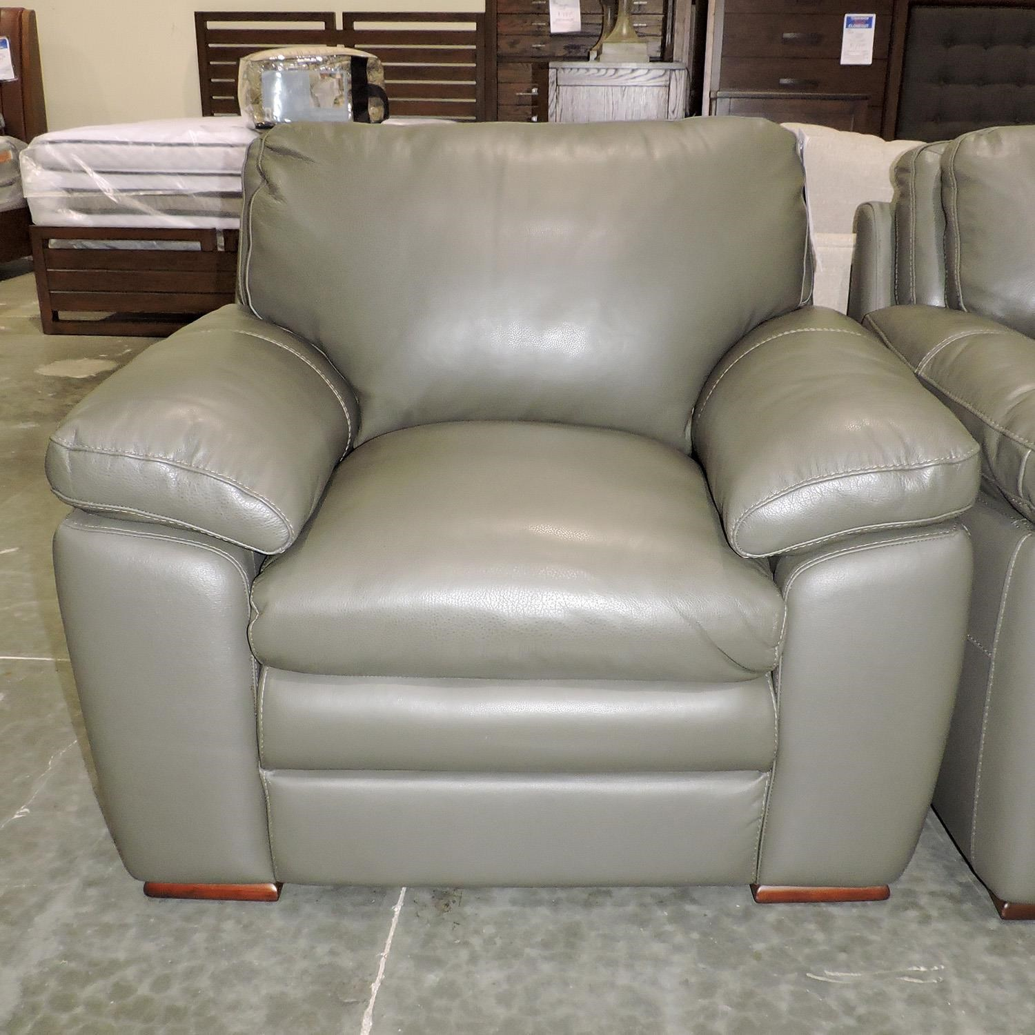 Belfort Select Clearance Cooper Leather Chair - Item Number: 268222065