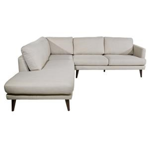 Violino Randall Sectional with Left Chaise