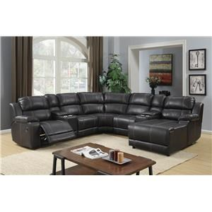 Vogue Home Furnishings PX2212 7 Piece Sectional