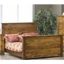 Vokes Furniture Rough Sawn Queen Headboard - Item Number: 829110