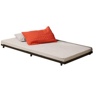 Walker Edison Bedroom Twin Roll-Out Trundle Bed Frame