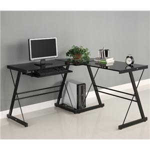 Walker Edison Home Office 3 Piece Soreno Desk