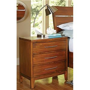 Madison Manor Bostonian Mahogany Nightstand
