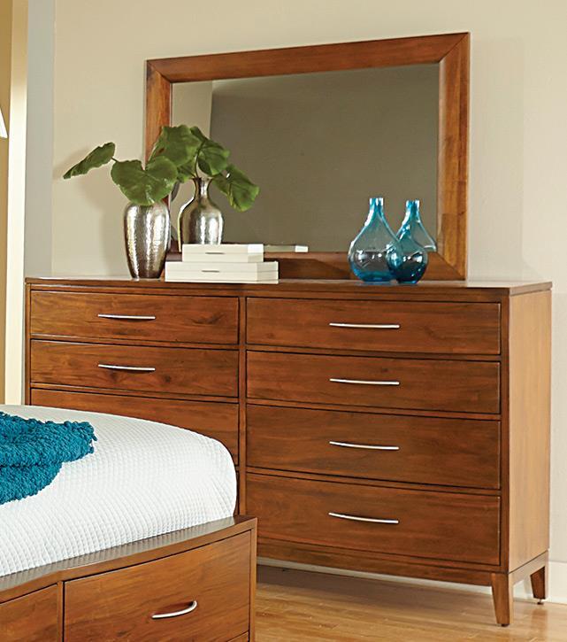 Madison Manor Bostonian Mahogany Dresser - Item Number: 21-12