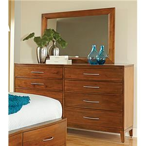 Madison Manor Bostonian Mahogany Dresser