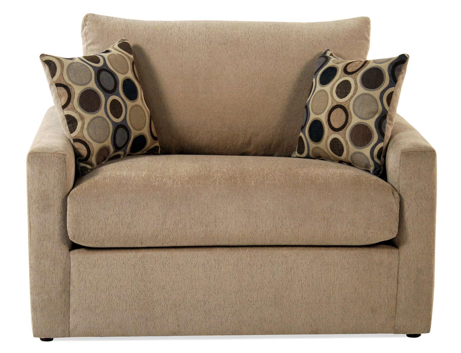 Madison Manor Sleepers Contemporary Twin Sleep Sofa - Item Number: 4433