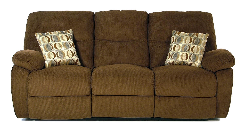 Madison Manor Taurus Casual Reclining Sofa - Item Number: 412-3