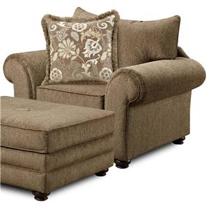 Washington Furniture 1120 Arm Chair