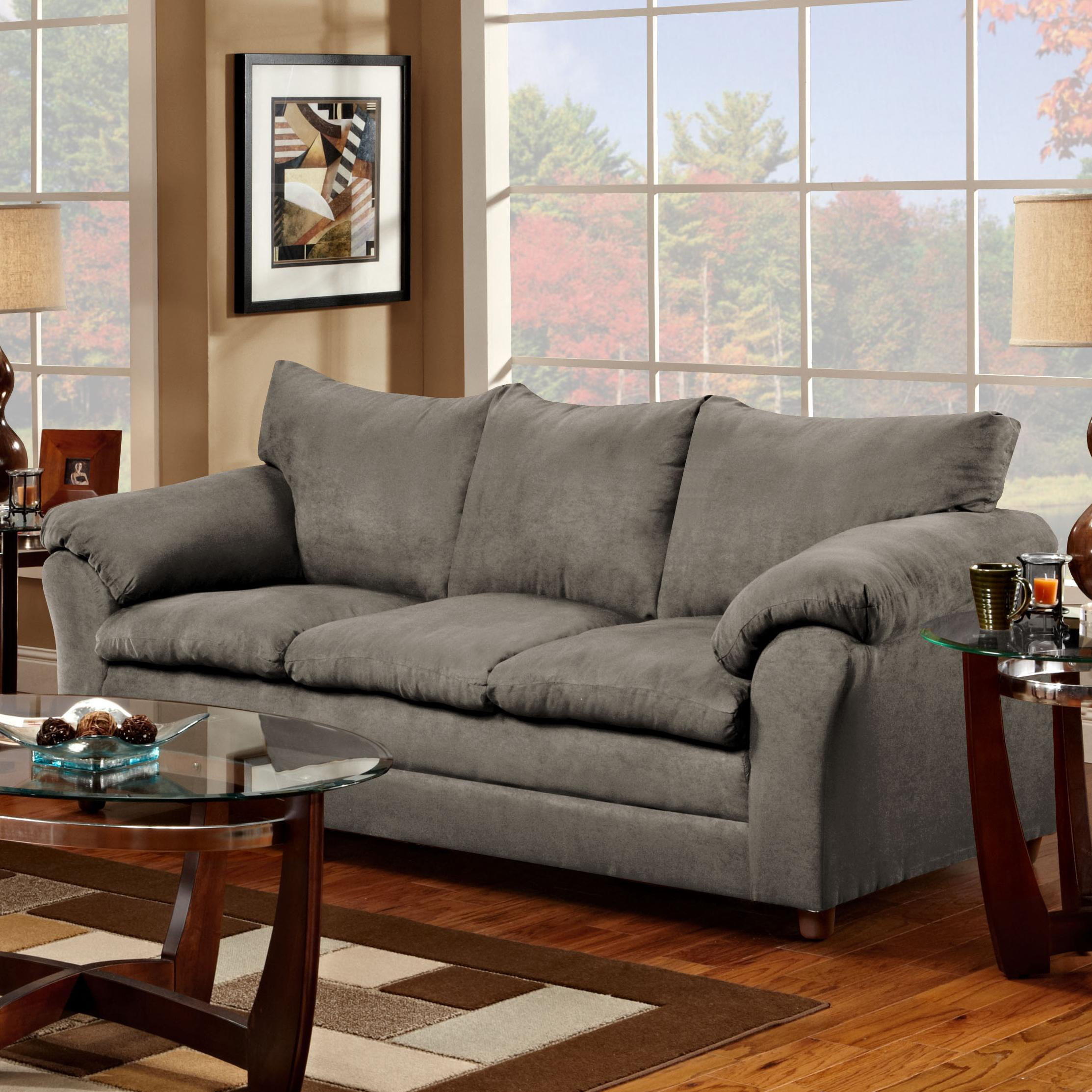 Washington Furniture 1150 Sofa - Item Number: 1150-S Graphite