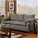 Washington Furniture 1150 Sofa - Item Number: 1150-S Graphite