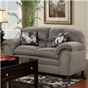 Washington Furniture 1250 Loveseat - Item Number: 1250L Dolphin