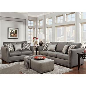 Washington Furniture 1380 Washington Sofa & Love Seat