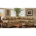 Washington Furniture 1450 Washington Sectional - Item Number: 1457-691+58-691