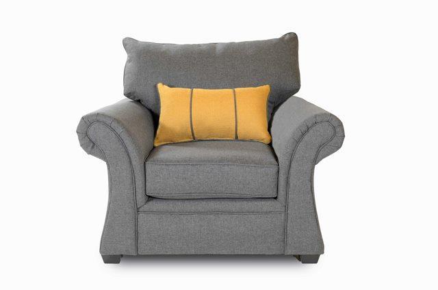 Washington Furniture 1560 Jitterbug Gray Chair - Item Number: 1561