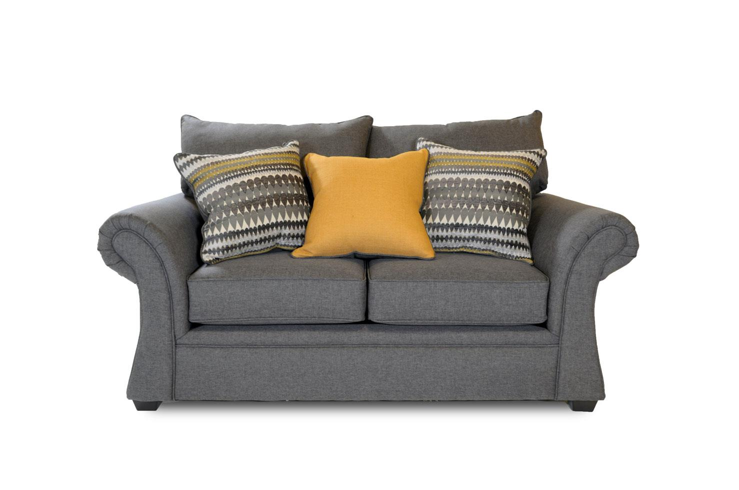 Washington Furniture Jitterbug Jitterbug Gray Loveseat - Item Number: 1562