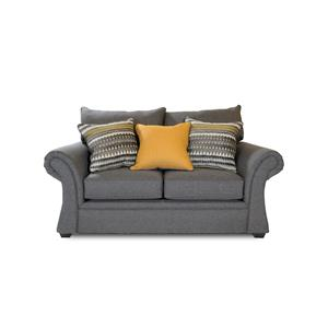 Washington Furniture 1560 Jitterbug Gray Loveseat