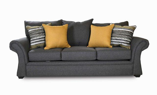 Washington Furniture 1560 Jitterbug Gray Sofa - Item Number: 1563