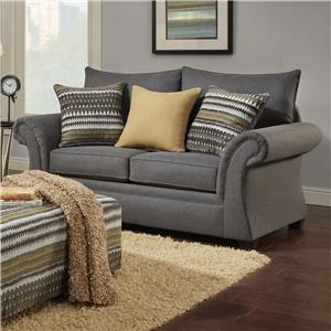 Washington Furniture 1560 Loveseat