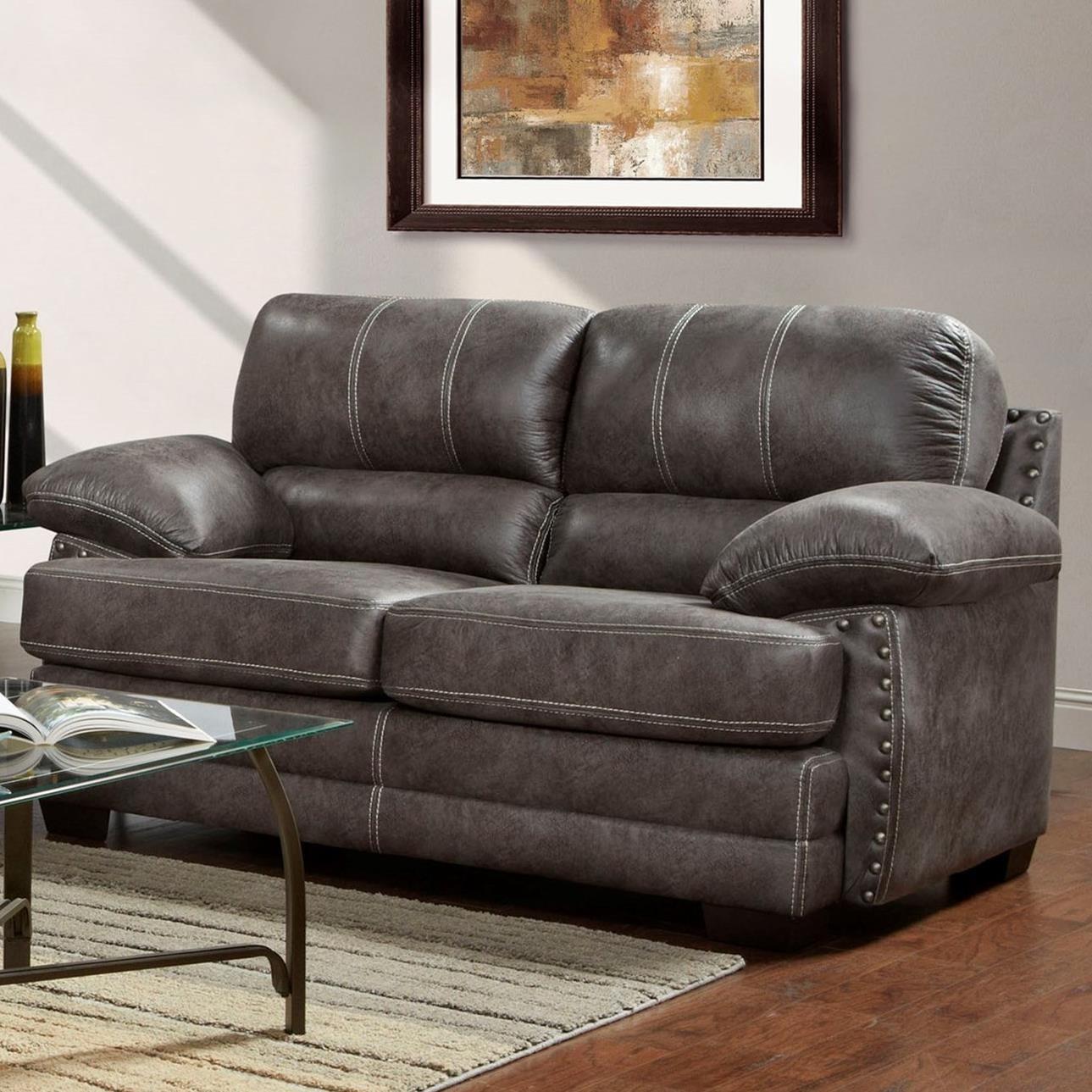 Washington Furniture 1650 Love Seat - Item Number: 1652-693-Nevada Ash