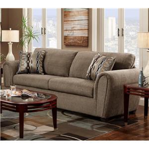 Washington Furniture 1820 Contemporary Ash Stationary Sofa