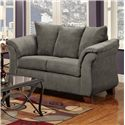 Washington Furniture 2000 Loveseat - Item Number: 2000-LS Graphite
