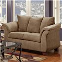 Washington 2000 Loveseat - Item Number: 2000-LS Taupe