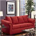 Washington 2000 Stationary Sofa - Item Number: 2000-S Redrock