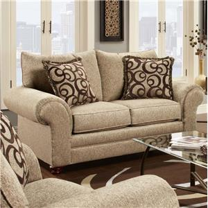 Washington Furniture 2120 Traditional Loveseat