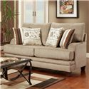 Washington Furniture 2230 Transitional Loveseat - Item Number: 2230L