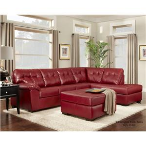 Washington Furniture 2400 Chaise Sectional