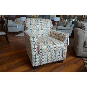 Washington Furniture Mover Straw Accent Chair