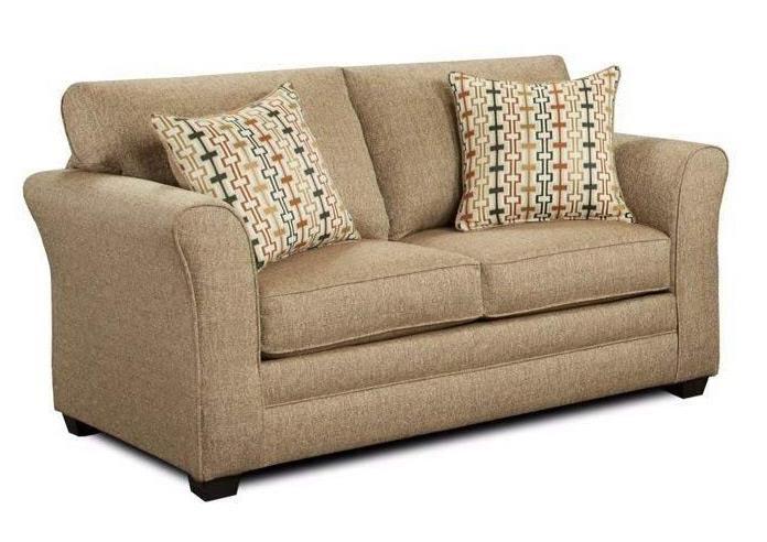 Washington Furniture Mover Straw Loveseat - Item Number: 3252-LOVESEAT,MOVER-STRAW