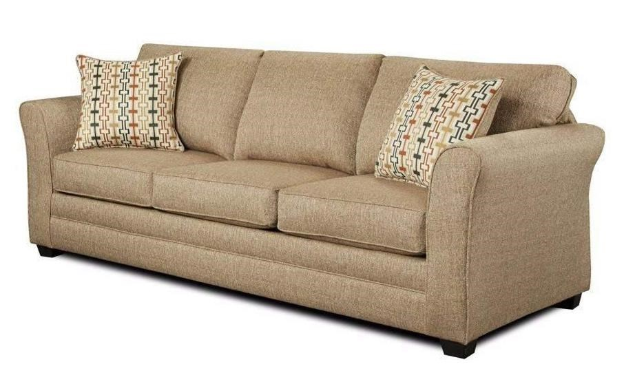 Washington Furniture Mover Straw Sofa - Item Number: 3253-SOFA,MOVER-STRAW