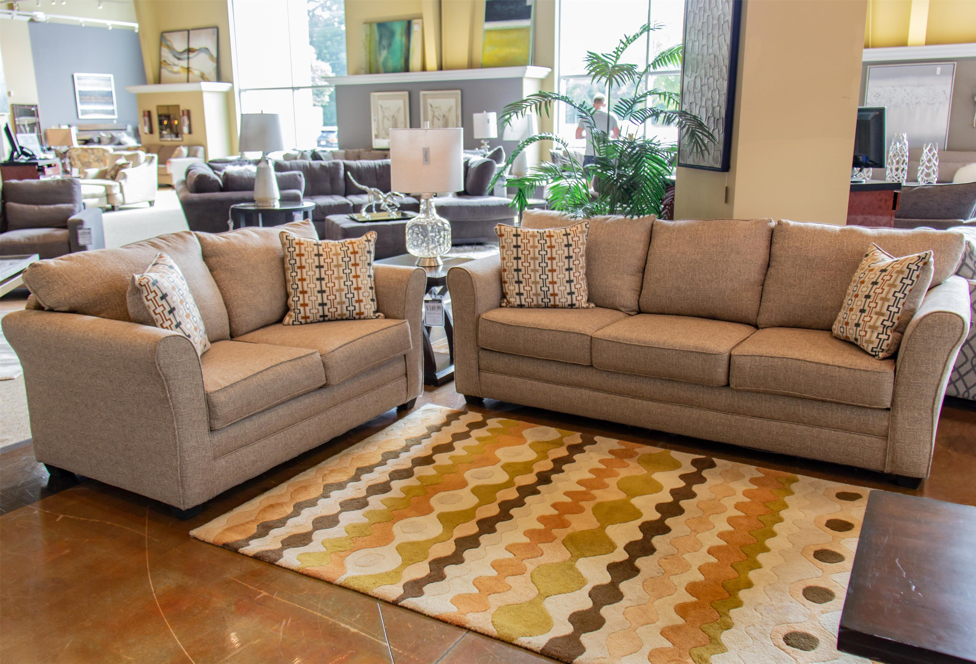 Washington Furniture Mover Straw Sofa & Loveseat - Item Number: GRP-325X-SL