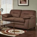 Washington 3670 Love Seat - Item Number: 3672-542